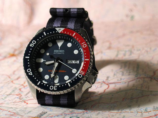 Nato sur Diver's 200 Skx009-4